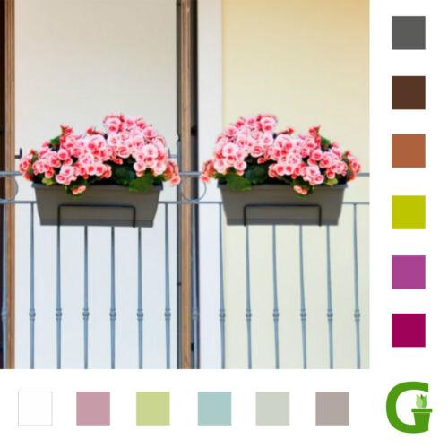 Venezia Blumenkasten Balkonkasten mit Untersetzer in 40 cm50 cm60 cm