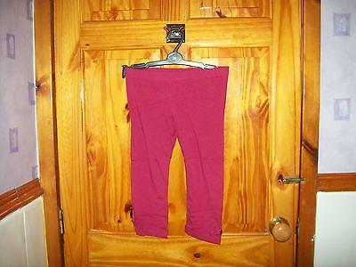 Obbiettivo *** Nuovo *** Pumpkin Patch Fiocco Rosa/berry 3/4 Leggings Età 10-mostra Il Titolo Originale Squisito Artigianato;