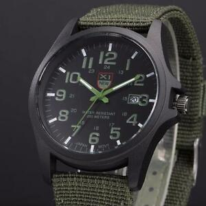 Men-039-s-Outdoor-Military-Date-Watch-Canvas-Band-Analog-Quartz-Sports-Wrist-Watches