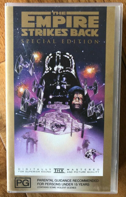 STAR WARS EMPIRE STRIKES BACK SPECIAL EDITION  VHS PAL VIDEO A RARE FIND
