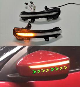 Dynamic LED Side Mirror Light Indicator For Nissan Note E12 Kicks P15 2016-2018