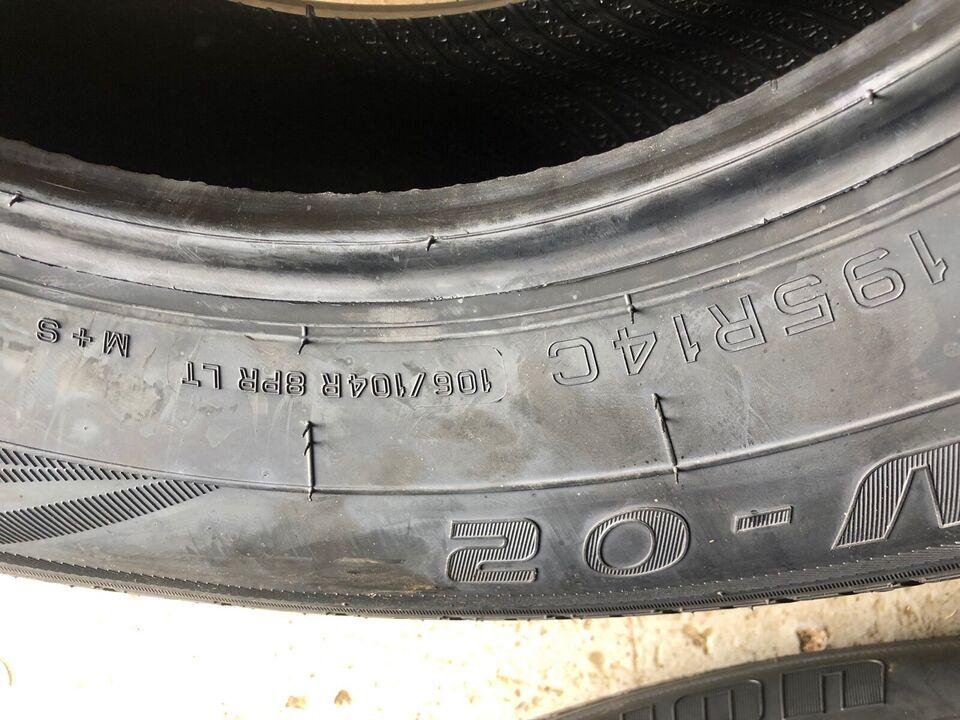 SUV-dæk, anden producent R14, Nye mønster