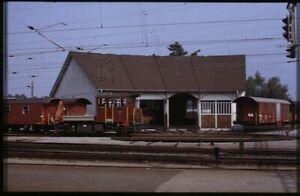 35mm slide+© SBB CFF FFS Tm 2/2 III 9559 Buchs Switzerland 1982 original