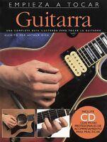 Empieza A Tocar Guitarra - Spanish Edition Of Absolute Beginners - Gui 014010299