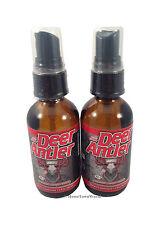 2 BOT DEER ANTLER VELVET HORN EXTRACT IGF-1 MAX Liquid Spray 2 oz Dietary