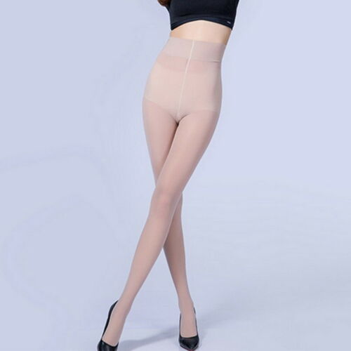 Women/'s Silky Sheer Tights Stretch Run Resistant Opaque Control Tights 3 pairs