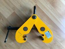 Used Camlok I Beam Hoist Suspension Clamp Wll 1 Ton 3 8 Flange