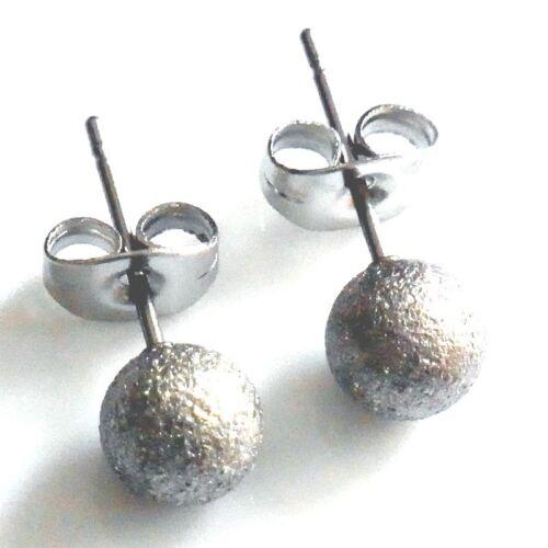 En Argent Paillettes Boucle D/'Oreille à Boule A la Mode Bijoux pour Oreilles