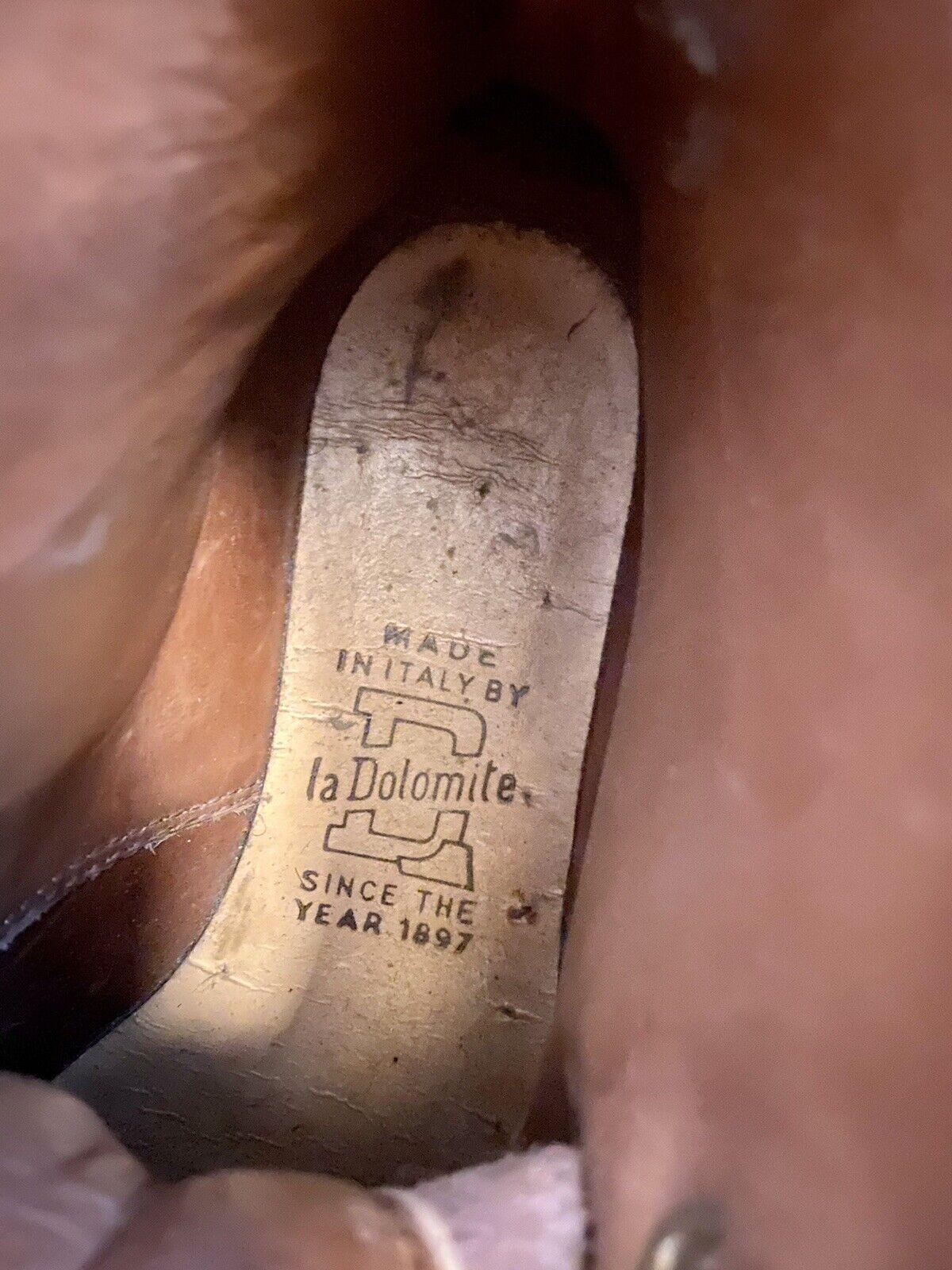 Vintage Mens DOLOMITE Moac Alpine Leather Hiking Boots size UK 5 EU 38