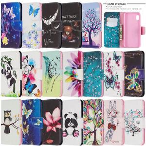 Pour-Samsung-Galaxy-A30-A50-A70-A51-A71-portefeuille-a-rabat-en-cuir-Telephone-TPU-Case-Cover