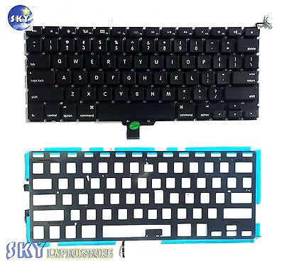 "New OEM Keyboard /& BackLight for Apple Macbook Pro Unibody A1278 13/""2009-2012"