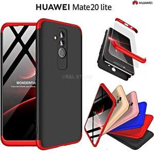 comprare popolare a64df b1efd Dettagli su COVER per Huawei Mate 20 Lite CUSTODIA Fronte Retro 360°  ORIGINALE ARMOR CASE