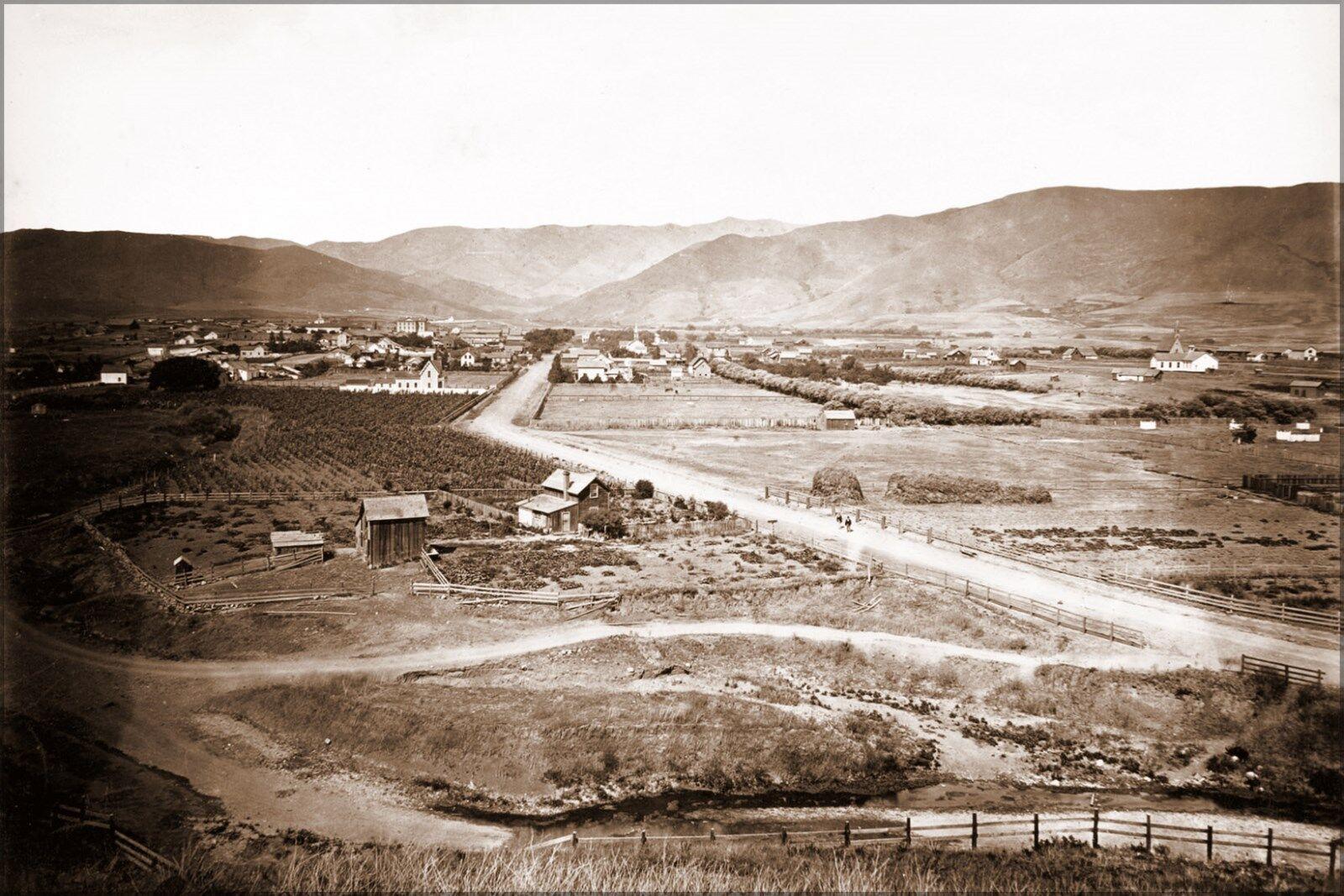 Poster, Poster, Poster, Molte Misure; San Luis Obispo, 1876. Carleton 5f4b6e