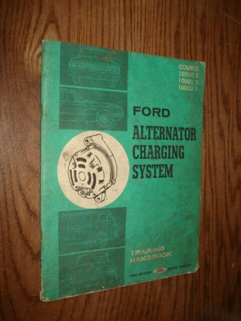 1964 Ford Alternators Starting Systems Service Manual Shop