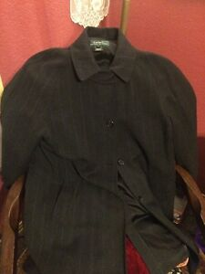 Størrelse Wool Lined Ralph Lauren Vintage 6 Cape Kvinders xv4p6qwpO