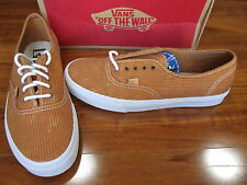 NEW Vans Authentic CA Skate shoes MENS Size 11.5 Washed Herringbone Inca Gold