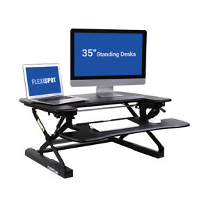 Flexispot M8mb 35 Standing Desk Riser Height Adjustable With Deep