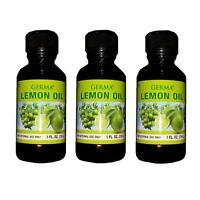 Aceite De Limon 1 Oz. Masajes - Lime Lemon Moisturizing Oil For Massage Or Bath