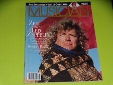 MUSICIAN MAGAZINE - N°113 - MARS 1988 - LED ZEPPELIN - JOE STRUMMER ...