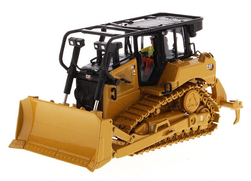 Caterpillar 1 50th D6 pista-Tipo Tractor Dozer Con Su Hoja-serie de línea de alta