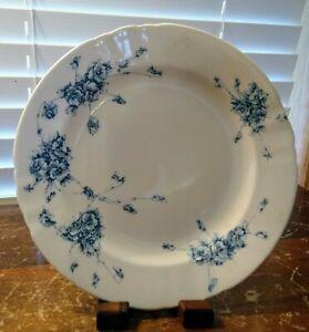 "Antique 1890s Royal Doulton Burslem England Jersey Pattern 8"" Salad Plate"