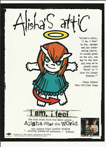 Shelly poole ALISHA'S ATTIC Trade Ad POSTER of Rules CD | eBay