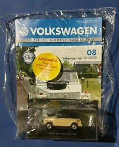 Volkswagen-Deagostini-offizielle-Modell-Sammlung-Nr-08-VW-Typ-181-Neu-OVP