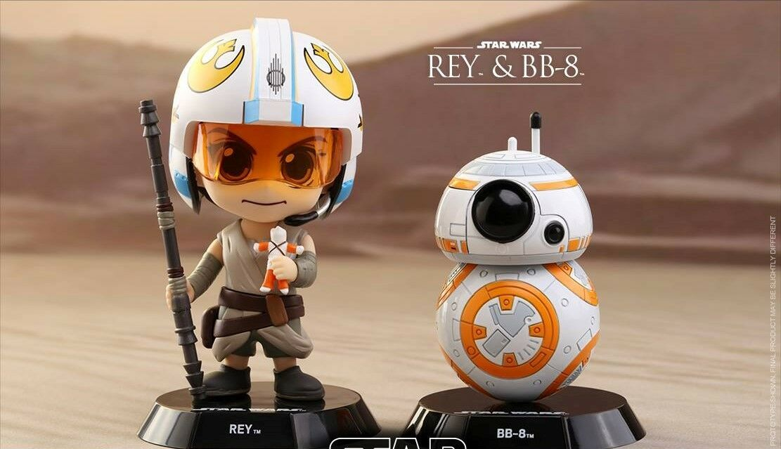 estrella guerras  Rey & BB8 Episode VII The Force Awakens Cosbambino Set