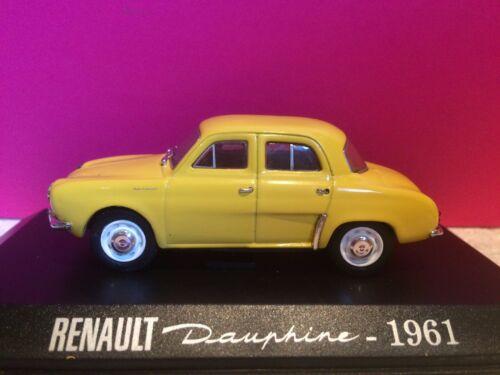 UNIVERSAL HOBBIES SUPERBE RENAULT DAUPHINE 1961 1//43 EN BOITE G7