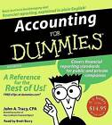 Accounting for Dummies by John A Tracy (CD-Audio)