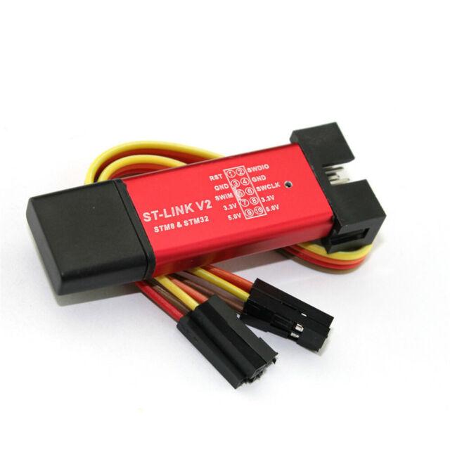 Stlink ST-Link V2 Mini STM8 STM32 Simulator Download with Cable Quality x