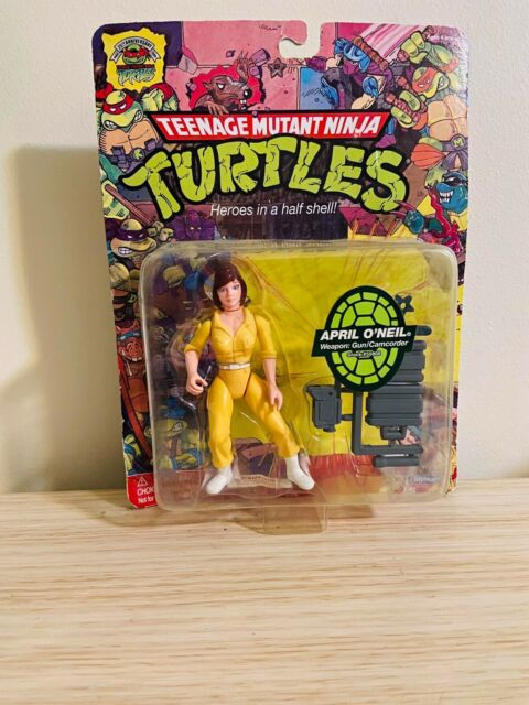 April Figurine Teenage Mutant Ninja Turtles 25th Anniversary *Rare Collectables*
