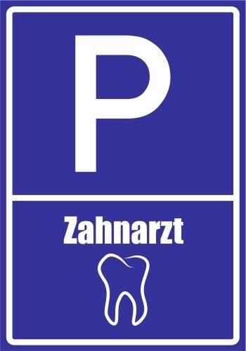 Paf0120 dentista 2pvc aludibond pegatinas plaza de estacionamiento letreros