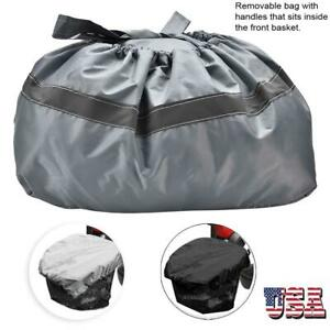 Professional-Waterproof-Mobility-Scooter-Front-Basket-Cover-amp-Bag-Reflective-US