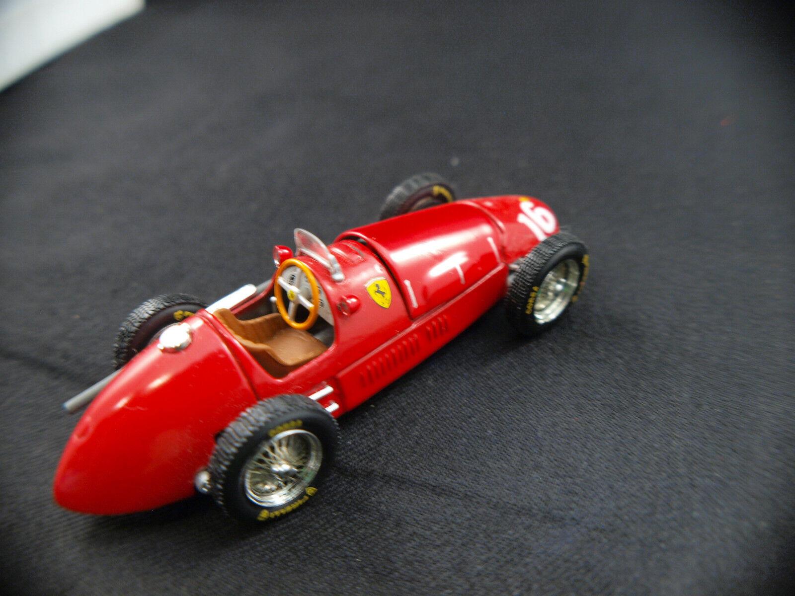 Ferrari 500 500 500 F2 n° 16 Kit monté sur base Quartzo 1 43 Magnifique e04322