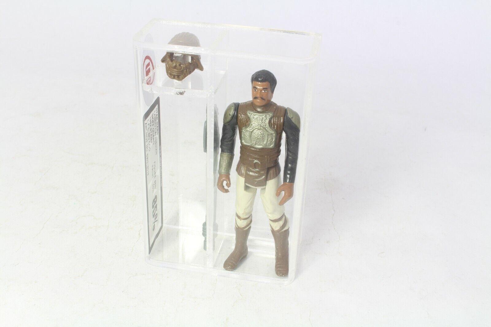 100% garantía genuina de contador Estrella Wars Lando Lando Lando Cochelrissian Skiff Guardia Figura VintageG clasificados 85 no Afa  más orden
