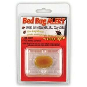 4 Bed Bug Alert Monitor Device Detection Glue Trap Test Testing Kit