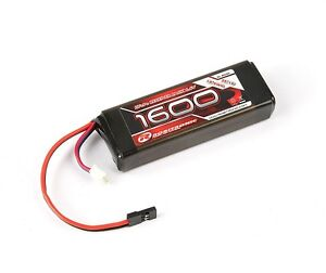 Robitronic LiFe 6,6V, 1600mAh, 2/3A Straight, Empfängerpack (EH) - R05205