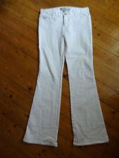(213FEB) Size 8 *GAP* White ultra lowrise denim jeans ladies/womens