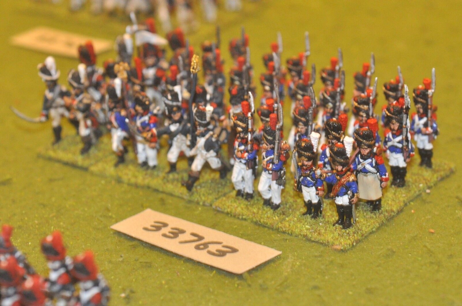 25mm napoleonic   french - old guard 40 figures - inf (33763)