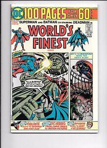 World-039-s-Finest-227-February-1975-100-page-giant-Superman-Batman-Deadman-Joker