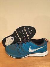 Men's Nike Flyknit Trainer Blue/Grey Size 10.5