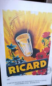 Affiche-RICARD-Marseille-1957