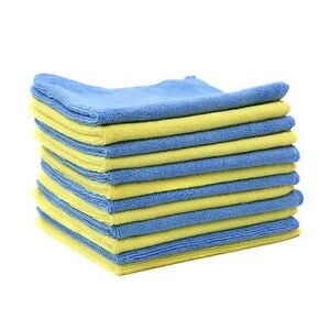 12 Pcs Pack- Microfiber Cleaning Cloth for Home/Auto/Boat<wbr/>s-Lint Free-Streak Free