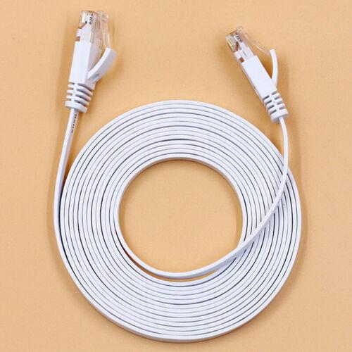 RJ45 CAT6 Network LAN Cable Gigabit Ethernet Fast Patch Lead 1m//50m Wholesale G$