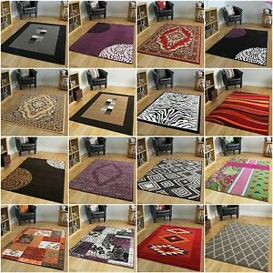 Image Is Loading New Modern Soft Quality Rugs Small Large Xl