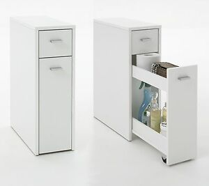 Denia Genius Slimline Bathroom Kitchen Slide Out Storage Drawer Unit Ebay