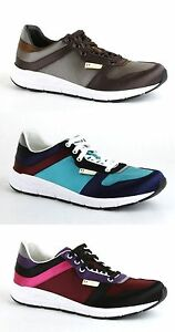 a55b6ced369 New Authentic Gucci Men Satin Multi-Color Lace-up Trainer Sneaker ...