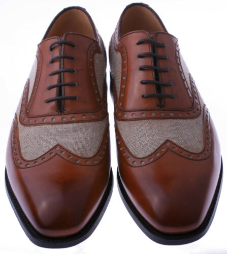 5 8 Gentleman Tagliacarte avena Barker due Cambridge Brogue toni a taglia TvqTwxzp