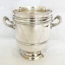 Christofle Malmaison~Rare Champagne small 1/2 bottle ~ Ice Bucket / Wine Cooler~